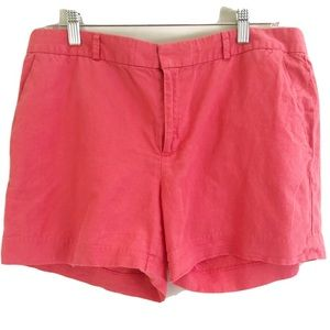 🎉 Banana Republic Factory Pink Linen Blend Shorts